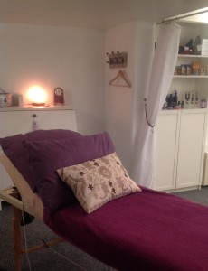 Therapy room at We Love Yoga, Hoole Road, Chester